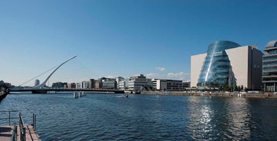 Convention Centre Dublin (CCD), is located in the heart of the city on the River Liffey