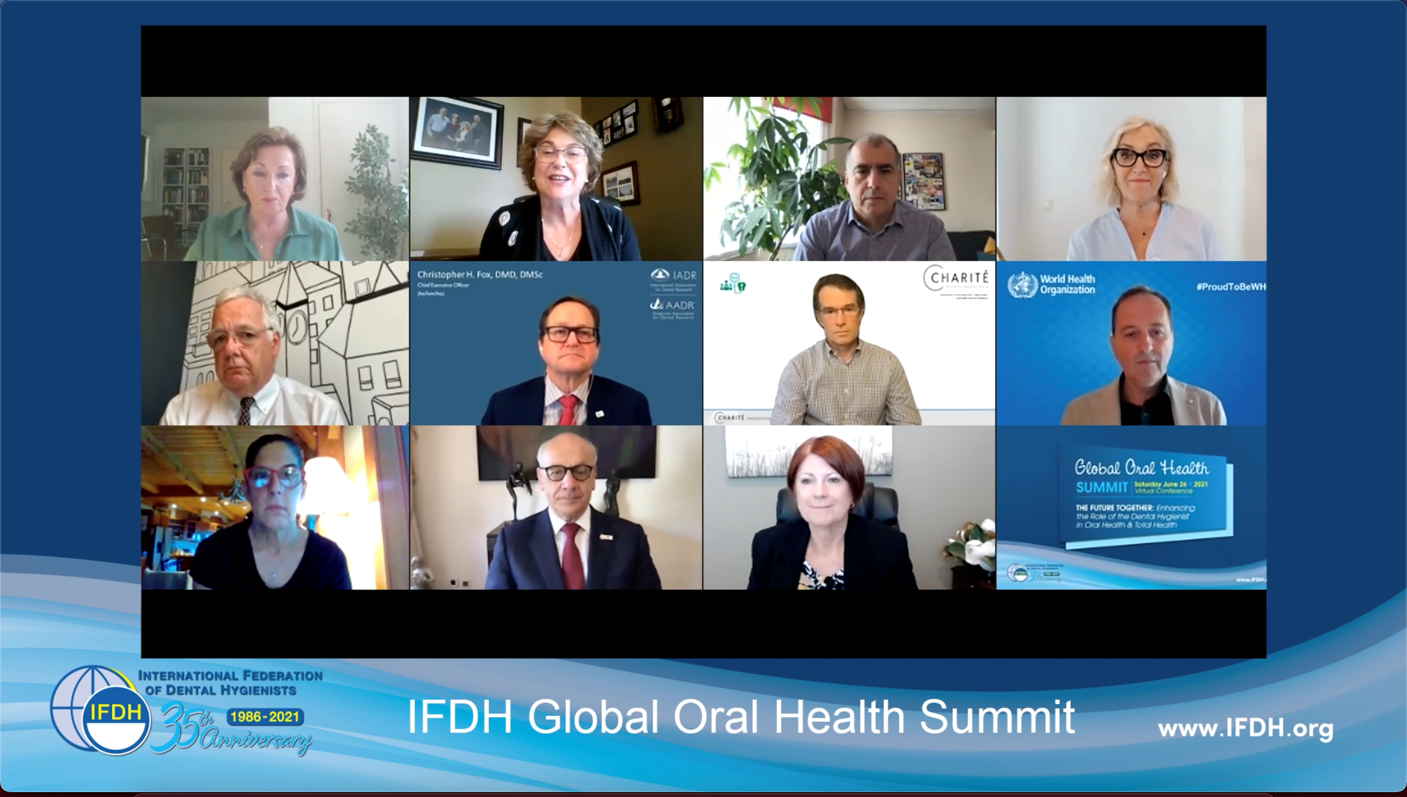 Global Oral Health Summit, Virtual Conference, June 26, 2021