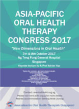 Asia-Pacific Oral Health Therapy Congress