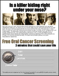 Free Oral Cancer Screening Event