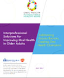Inter-Professional Solutions for Improving Oral Health in Older Adults-White Paper