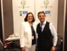 JoAnn and Tony Hashemian, DDS at the Text 2 Floss booth
