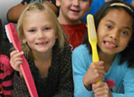 Collect Toothbrushes for Children in Your Community in February